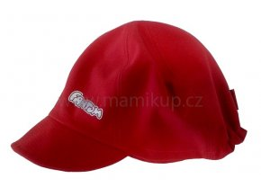 Softshellová čepice DINTEX - červená