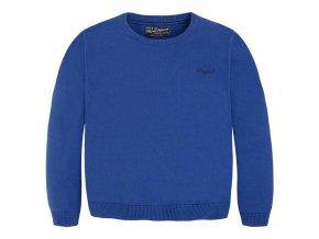 Chlapecký elegantní svetr ke krku Mayoral - modrý