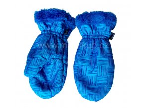 Zimní rukavice s kožíškem - 4 barvy