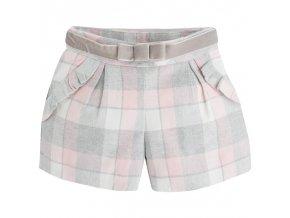 Zimní kalhotová sukně Mayoral - šedorůžová