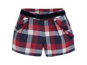 Kalhotová sukně Mayoral - modročervená
