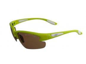 Fotopolarizační brýle pro dospělé - světle zelené