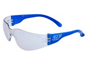 Dětské sportovní brýle 3F MONO S ČIRÝMI ZORNÍKY - 3 barvy postranic