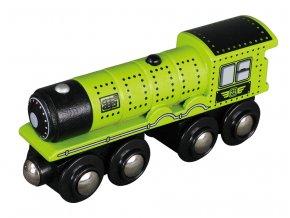 Parní lokomotiva Maxim - ZELENÁ
