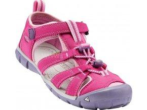 Sandály KEEN SEACAMP II CNX KIDS - růžová