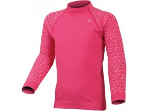 Dětské funkční triko Lasting Darma - růžové