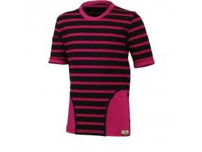 Dětské merino triko Lasting Pony - růžové
