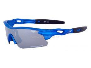 Dětské sluneční brýle 3F FOCUS - MODRÉ+ZRCADLOVÉ ZORNÍKY