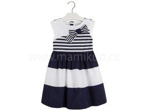Letní šaty Mayoral MARINE S MAŠLÍ - modré, vel. 98