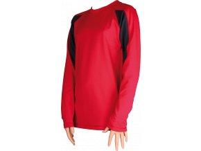 solid 08 detske triko cervena