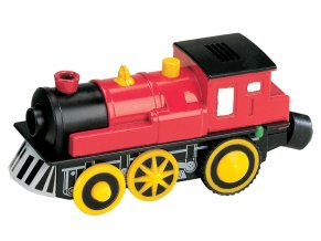Elektrická lokomotiva Maxim 50412 - červená