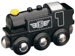 Parní lokomotiva Maxim 50816 - černá