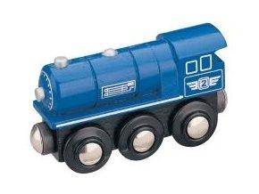 Parní lokomotiva Maxim 50813 - modrá