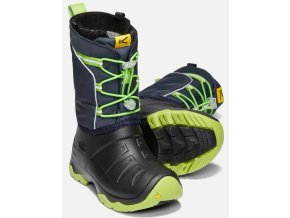 LUMI BOOT WP C BLUE NIGHTS GREENERY 2