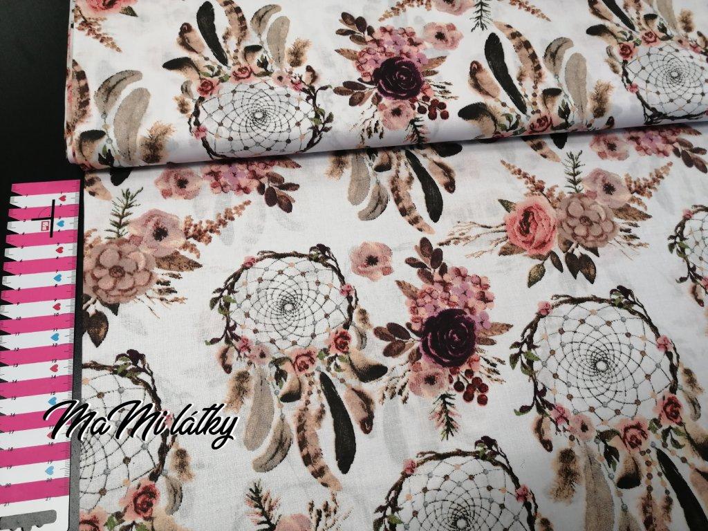 Bavlněné plátno lapače snů
