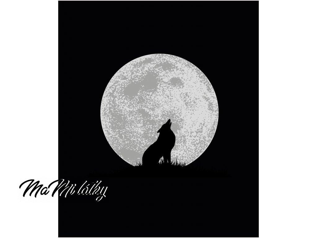 vlk s mesice
