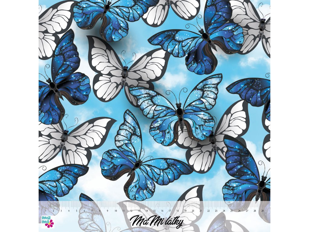 motýle na obloze 30x30 nahled