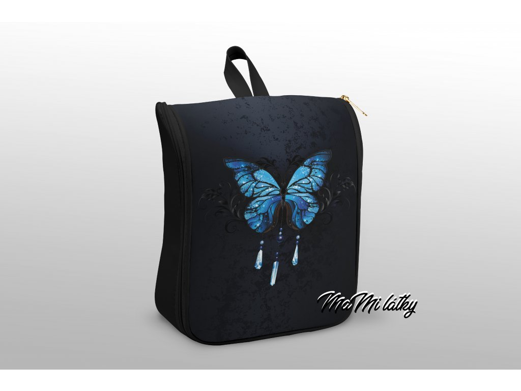 modrý motyl