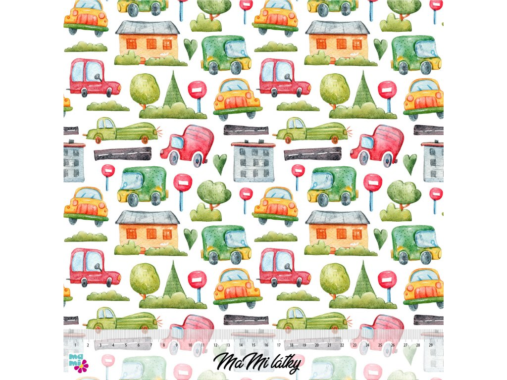 cars patterns 5 30x30 nahled