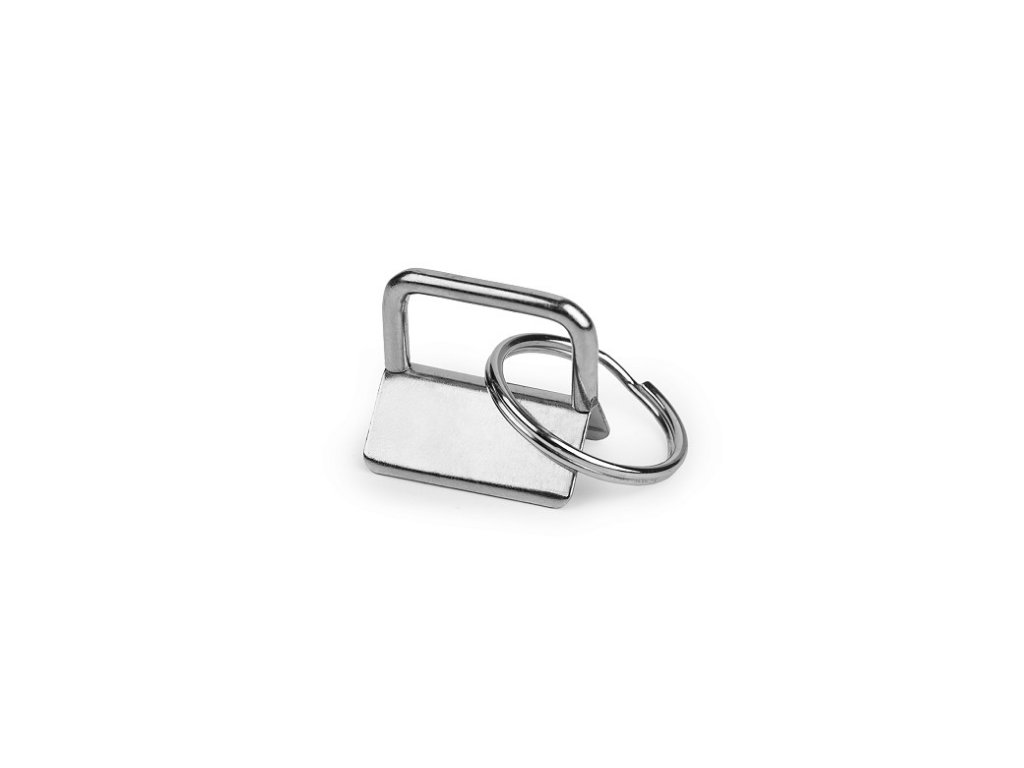 Kovová koncovka s kroužkem šíře 25 mm (2 ks) 1