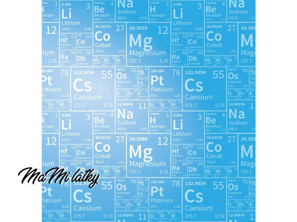 periodická tabulka Kreslicí plátno 1