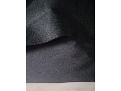 Softshell s fleecem černý