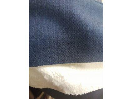 Softshell s beránkem tmavě modrý - žíhaný