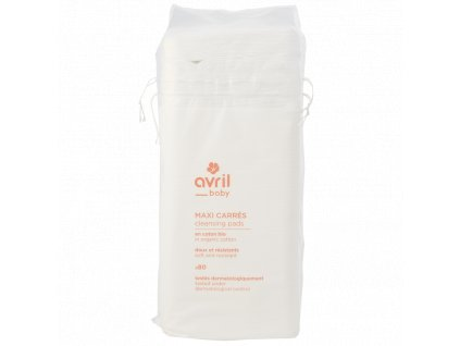 baby cleaning pads in organic cotton
