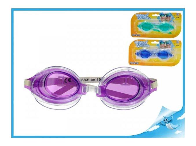 Plavecké brýle 3-6 let (Barva Fialová)