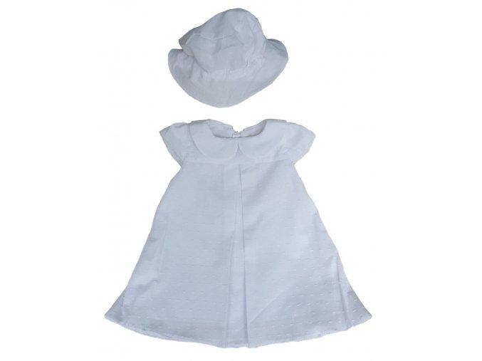 Bílé šaty (Velikost 86)