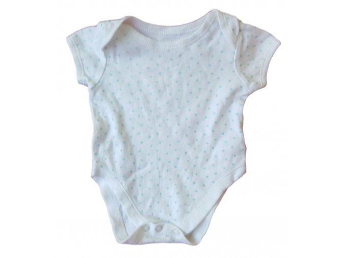 Body bílé s modrými puntíky, Earlydays, vel. 62