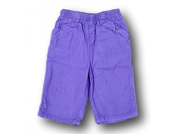 Kalhoty fialové, Cherokee, vel. 62