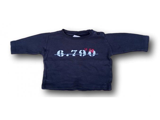 Tričko modrošedé, Impidimpi, vel. 80