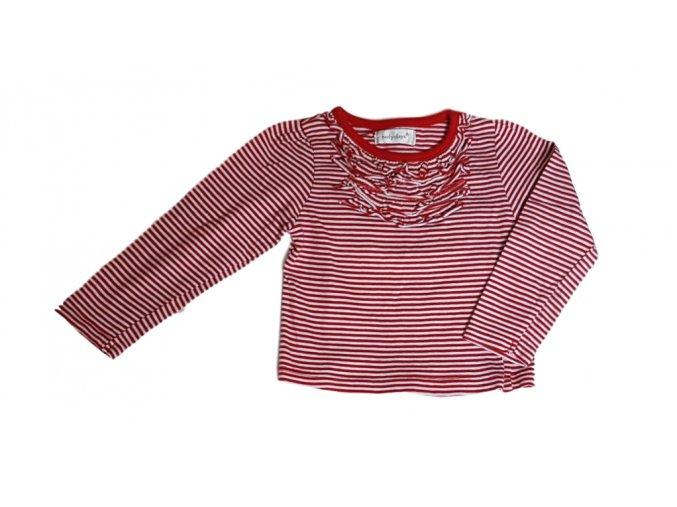 Červeno-bílé tričko s pruhy, Early days, vel. 86
