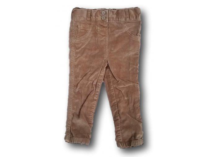 Kalhoty hnědé, George, vel. 86