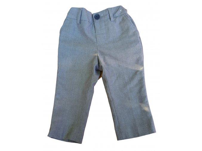 Kalhoty šedé Next, velikost 80