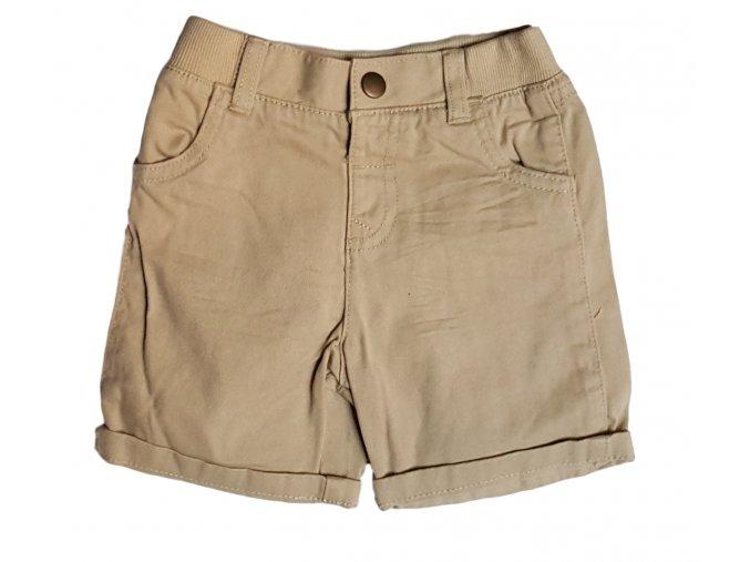 Krátké béžové kalhoty