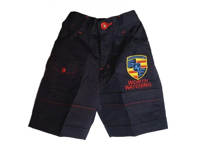 Krátké kalhoty s nášivkou Porsche