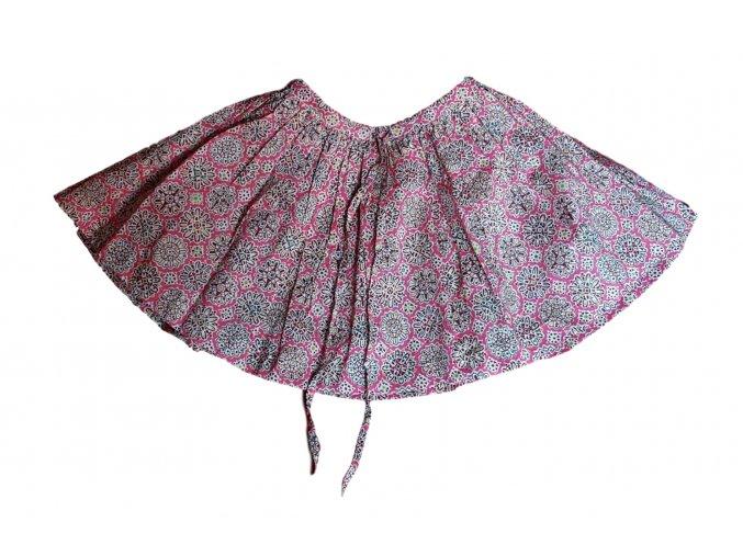 Růžová sukně