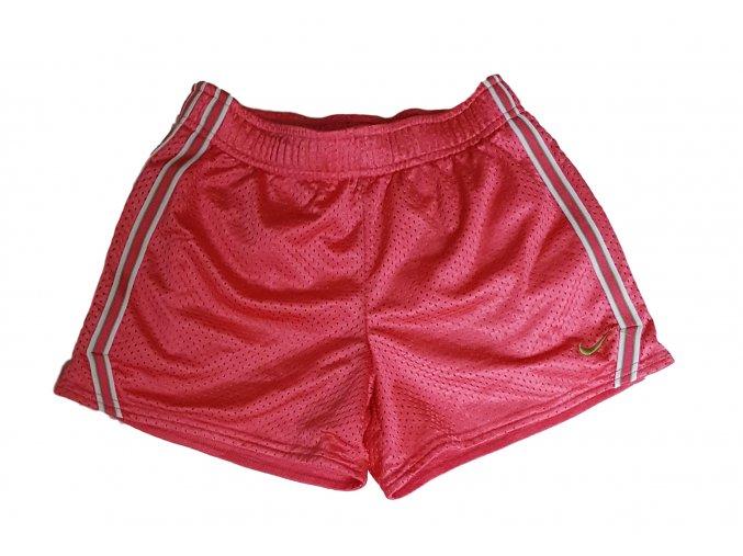 Růžové kraťasy, Nike, vel. 152