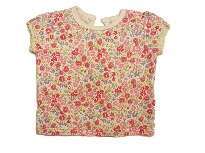 Tričko bílé s krátkým rukávem