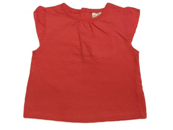 Tričko růžové bez rukávů