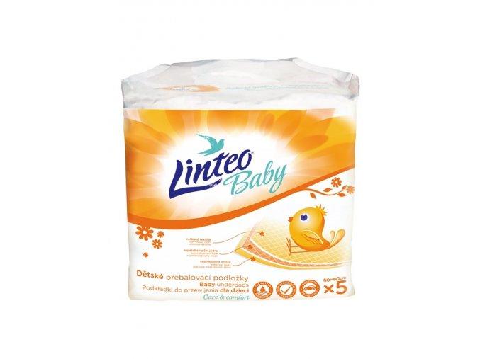 Přebalovací podložky LINTEO BABY - 5ks