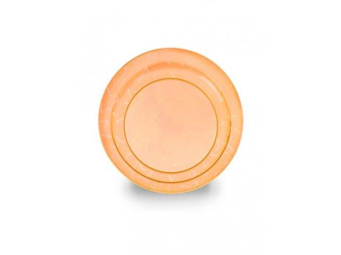 Dětský talířek Tommee Tippee oranžový - 3ks