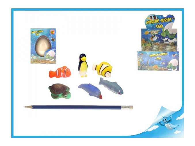 Líhnoucí a rostoucí mořská zvířátka