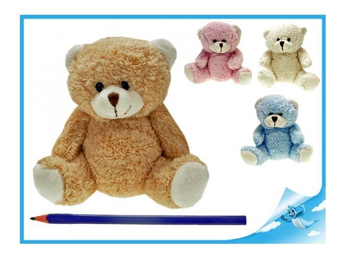Medvěd plyšový 15cm (Barva Růžová)