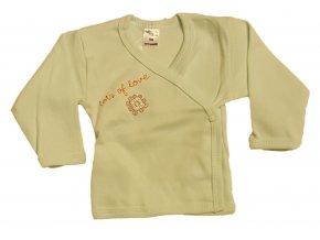 Kojenecká košilka Amma Flower zelená (Velikost 62)