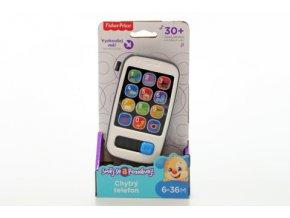 Fisher Price Chytrý telefon CZ