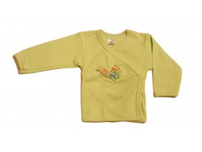 Kojenecká košilka Amma Train zelená (Velikost 62)