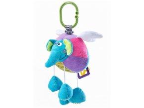 Edukační plyšová hračka Sensillo sloník s vibrací